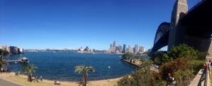 The Opera House, Sydney City and Harbour Bridge